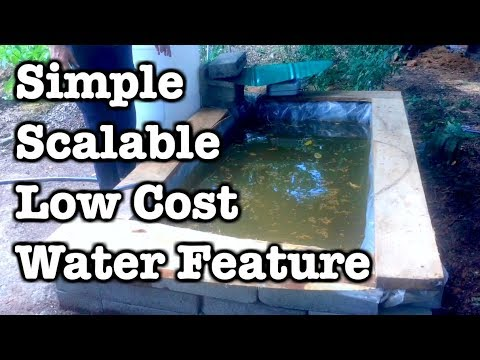Above Ground Pond - Scalable, Inexpensive, Simple