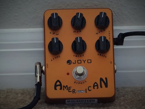 Joyo American Sound Amplifier Emulation Pedal - Bass and Keyboard DEMO