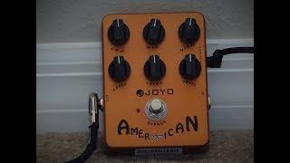Joyo American Sound Amplifier Emulation Pedal - Bass and Keyboard DEMO