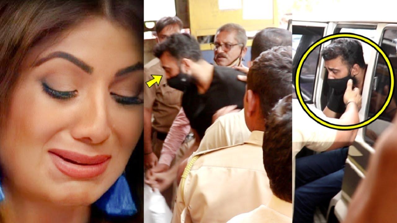 Raj Kundra Locked Up In Arthur Road Jail😲 Patni Shilpa Shetty Agitated After Court Decision😢