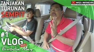 Trik Termudah di Tanjakan Turunan Terjal & Sempiit | Vlog #1 ft. Evo by Widi Mandiri