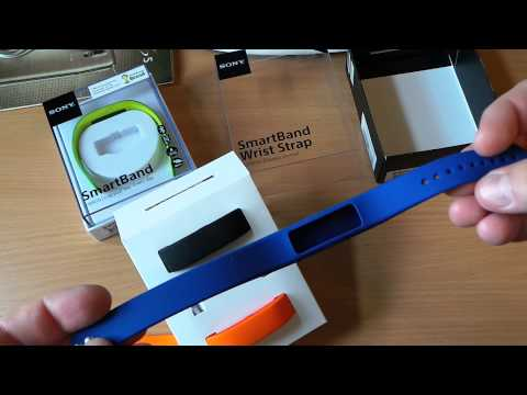 Браслеты для Sony SmartBand SiA