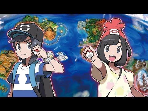 Alola, legendäre Pokémon und mehr! - TRAILER -  POKÉMON SONNE UND MOND