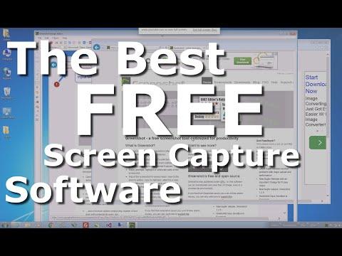 2016 - The Best Free Screen Capture Software Demo (GreenShot) for Windows