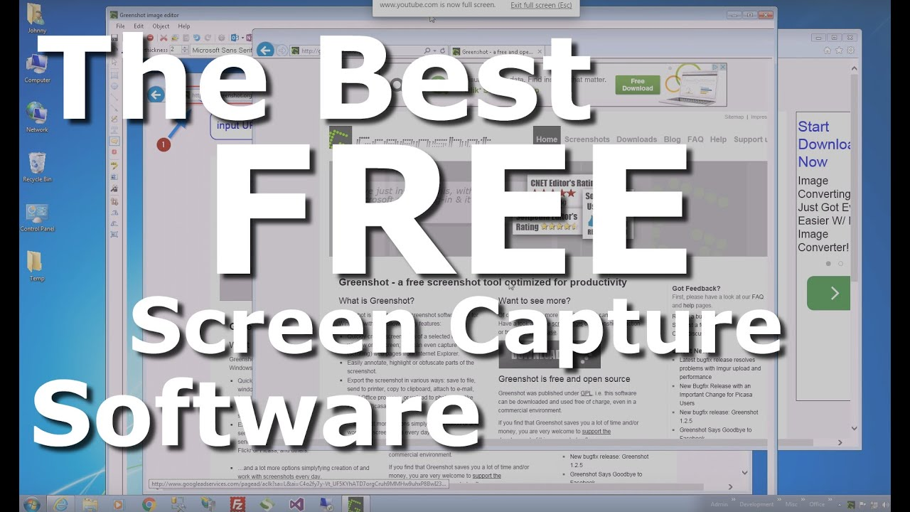 the best free screen capture software