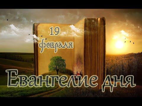 Евангелие дня. Чтимые Святые дня. Неделя о блудном сыне. (19 февраля 2020 г.)