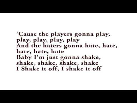 Taylor Swift - Shake It of - Karaoke Rock Version