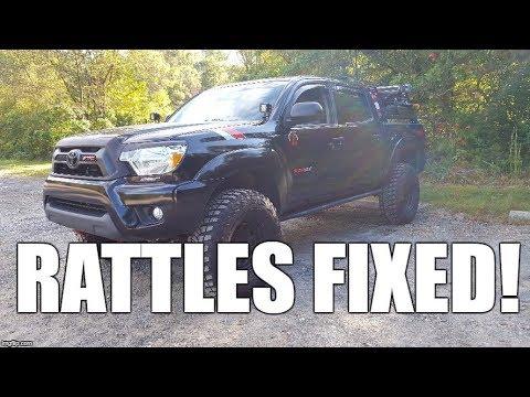Toyota Tacoma Mods >> Simple Tacoma Mods #2: Fixing those DAMN rattles! - YouTube
