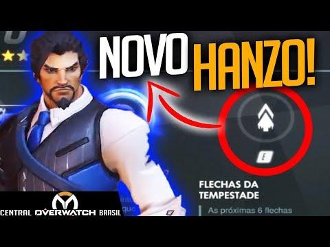 NOVO HANZO CHEGOU! TESTANDO AS NOVAS HABILIDADES! - Central Overwatch Brasil