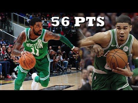 Is Jayson Tatum & Kyrie Irving the BEST BACKCOURT in the NBA?! Celtics vs Hawks!