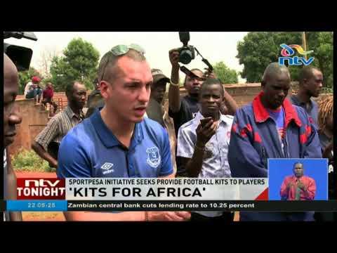 SportPesa initiative seeks to provide football kits to all players