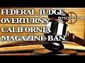 FEDERAL JUDGE RULES CALIFORNIA MAGAZINE BAN UNCONSTITUTIONAL - SH007ER ShopTalk