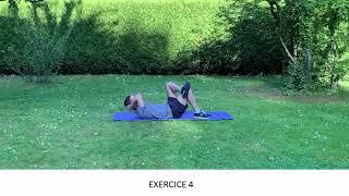 Enchaînement d'exercices pour muscler les abdominaux