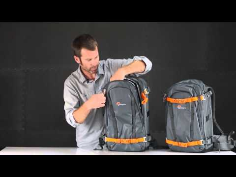 Lowepro Whistler Series Camera Backpack Product Walkthrough