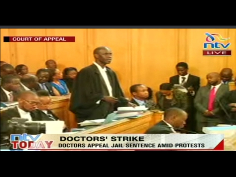NTV Live: Doctors appeal jail sentence amid protests