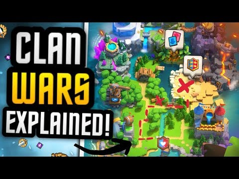 CLAN WARS EXPLAINED + MY 1ST WAR ATTACK EVER! (Can I win?!)