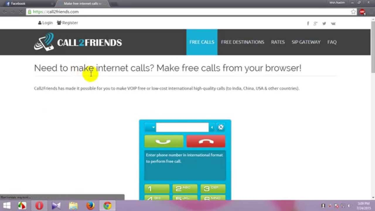 how to make free international calls from your mobile phone