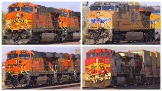 24 Freight Trains in 4K (July 1st, 2017)