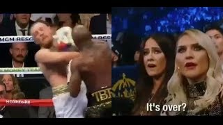 Conor McGregor Family & Girlfriend Reaction to Loss to Mayweather