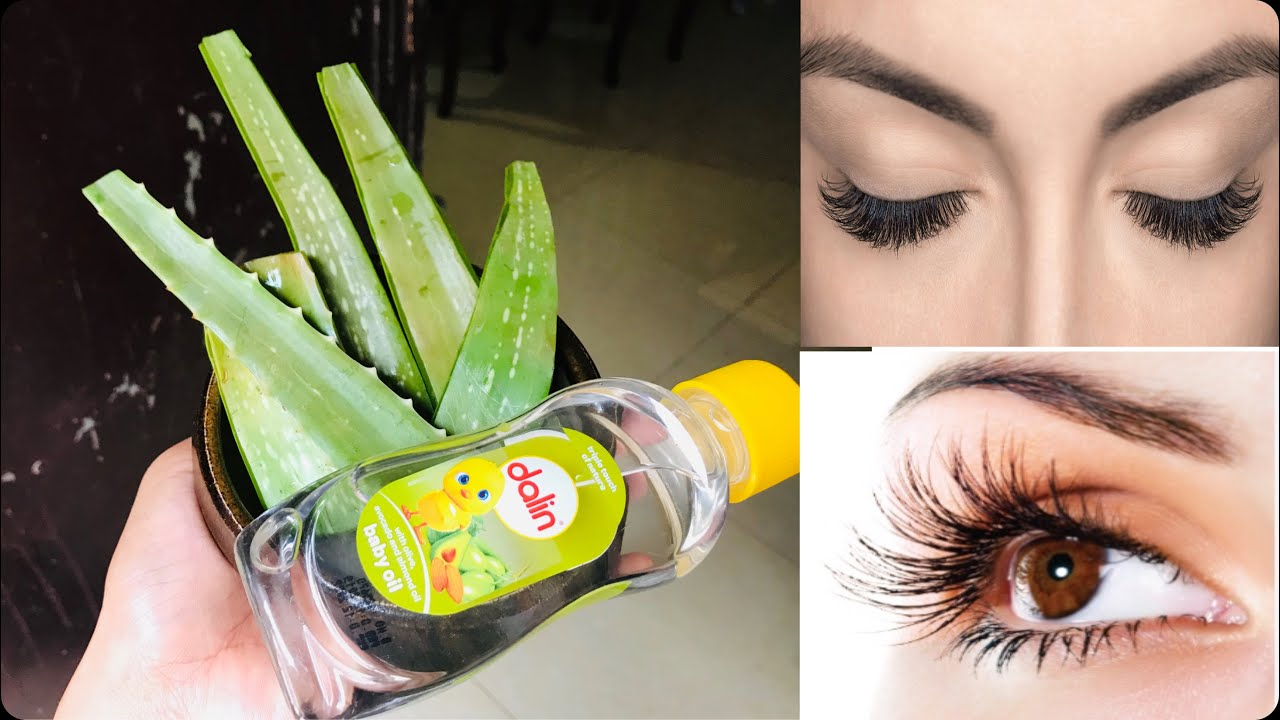 Easy way to grow the eyebrows and eyelashes faster!!! Get ...