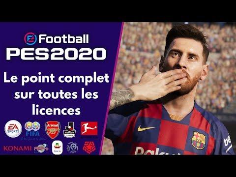 PES 2020 : Le point complet de toutes les licences entre PES et FIFA !