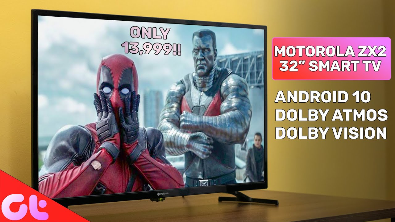 "Motorola ZX2 32"" TV Unboxing 