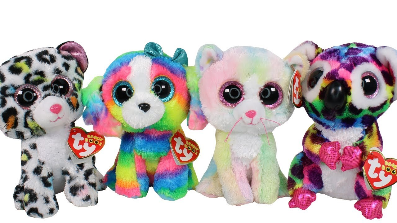 df361816509 Beanie Boo Haul with NEW 2018 Claires Exclusives Unboxing Toy Review ...