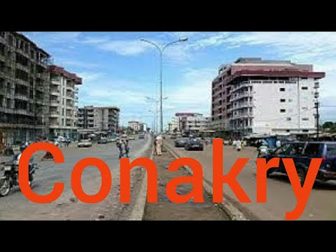 Conakry- Capital de Guinee.