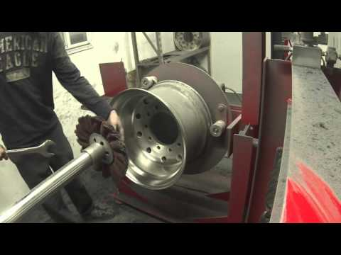 Evan's detailing and polishing : JEM wheel polishing machine