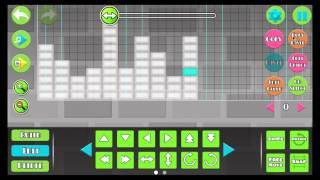 Geometry Dash (Tutorial, como hacer el efecto musica) GRACIAS POR LOS 200 SUBS!!!!