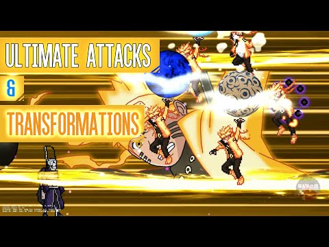 (2020) 190+ Character's I All Ultimate Attacks - Anime Super Battle Stars MUGEN XXV (v3.0) PC