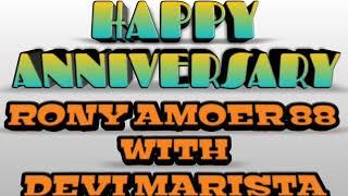 Dj Nana Wijaya  - Happy Anniversary Rony Amoer 88 With Devi Marista 88