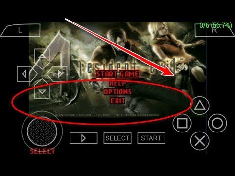 Resident Evil 4 PPSSPP (Cara Pasang Di Android)