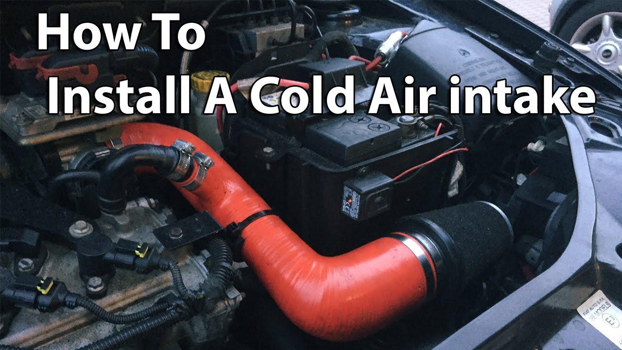 Pipercross Cold Air Intake Install Fiat Punto 1 4 16v