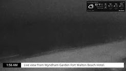 Okaloosa Island - Live view from Wyndhan Garden