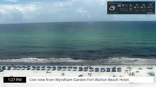 Preview of stream Okaloosa Island - view from Wyndhan Garden
