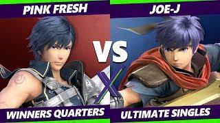 Smash Ultimate Tournament - Pink Fresh (Chrom) Vs. Joe-J (Ike) S@X 330 SSBU Winners Quarters