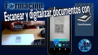 Escanear y digitalizar documentos con CamScanner