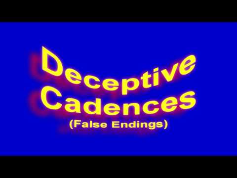 How To Surprise Your Listeners: Deceptive Cadences (podcast - No Video)