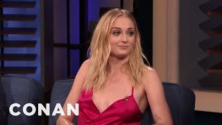 Sophie Turner Wants To Be A Detective - CONAN on TBS