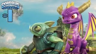 Skylanders: Spyro's Adventure - Walkthrough - Part 1 - Shattered Island (PC) [HD]