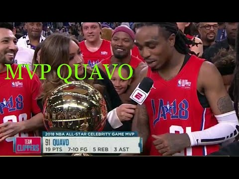 Quavo NBA Celebrity Allstar Game Highlights!!!! MVP