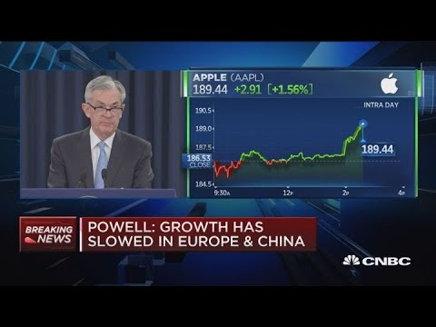 Fed Chair Powell: Brexit and US-China trade talks pose some risks to outlook