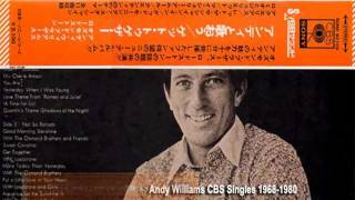 andy williams-22  CBS singles  1967-1980