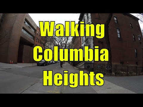 ⁴ᴷ Walking Tour of Brooklyn Heights, Brooklyn, NYC - Columbia Heights (Millionaire's Row)