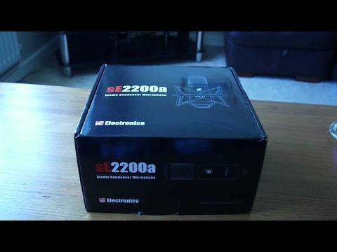 Полный обзор на студийный микрофон SE Electronics SE 2200a II