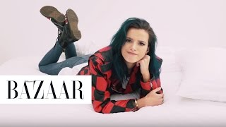 100 Seconds With Bella Thorne | Harper's BAZAAR