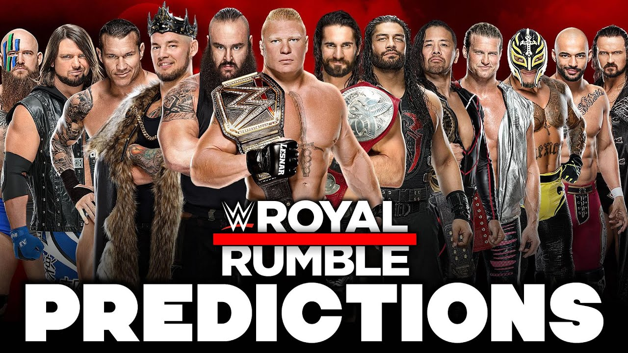 Final Predictions for Lesnar, Lynch, Fiend and WWE Royal Rumble ...