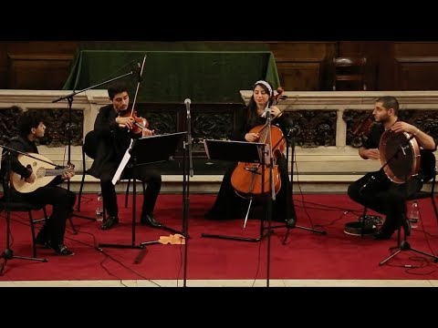 The Galilee Quartet: Playing for peace, love and humanity