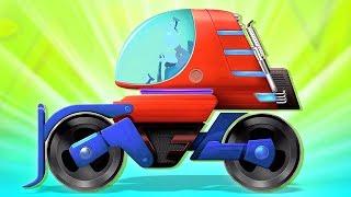 con lăn đường đồ chơi | sửa đổi phương tiện | Road Roller Modification | Kids Tv Channel Vietnam